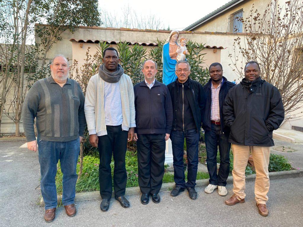 Rencontre des supérieurs locaux de la région France